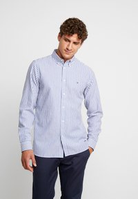Tommy Hilfiger - SLIM TEXTURED  - Skjorta - blue - 0