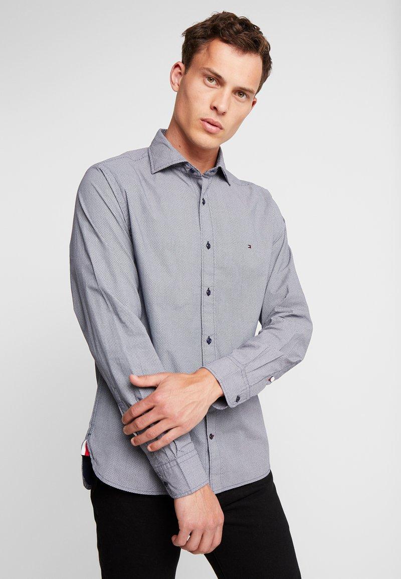 Tommy Hilfiger - FAKE SOLID SHIRT - Shirt - blue