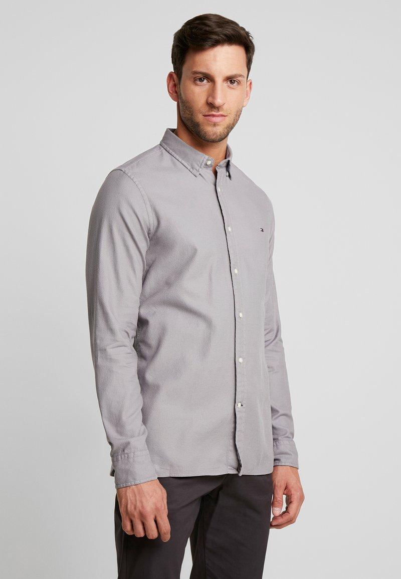 Tommy Hilfiger - CLASSIC DOBBY SLIM FIT - Shirt - grey