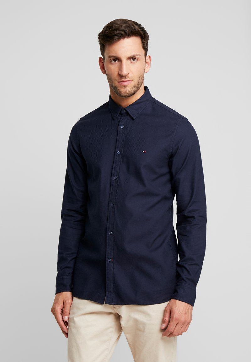 Tommy Hilfiger - CLASSIC DOBBY SLIM FIT - Shirt - blue