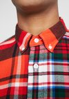 Tommy Hilfiger - LEWIS HAMILTON  MULTI CHECK SHIRT - Overhemd - orange