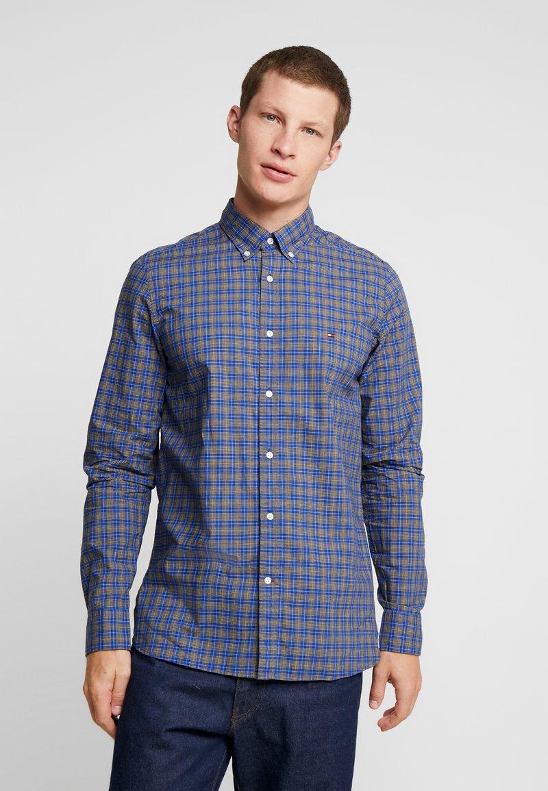 Tommy Hilfiger - ESSENTIAL TARTAN SLIM FIT - Skjorte - blue