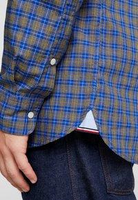 Tommy Hilfiger - ESSENTIAL TARTAN SLIM FIT - Shirt - blue - 4