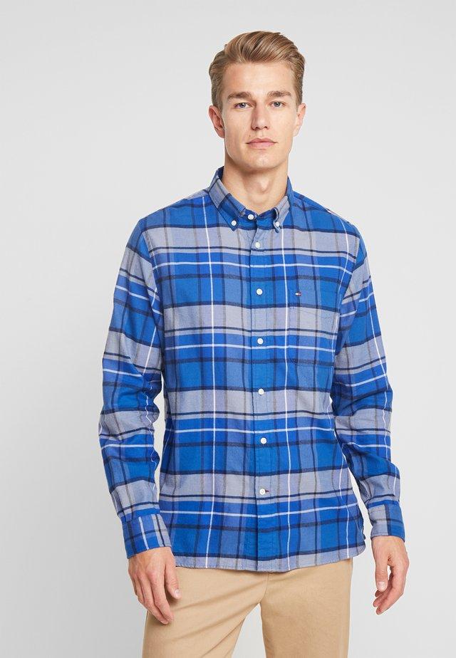 CLASSIC TARTAN SHIRT REGULAR FIT - Shirt - blue