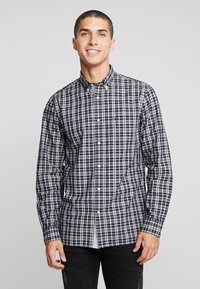 Tommy Hilfiger - HEATHER WINDOWPANE SHIRT - Camicia - blue - 0