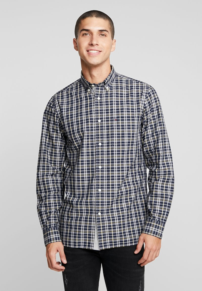 Tommy Hilfiger - HEATHER WINDOWPANE SHIRT - Camicia - blue