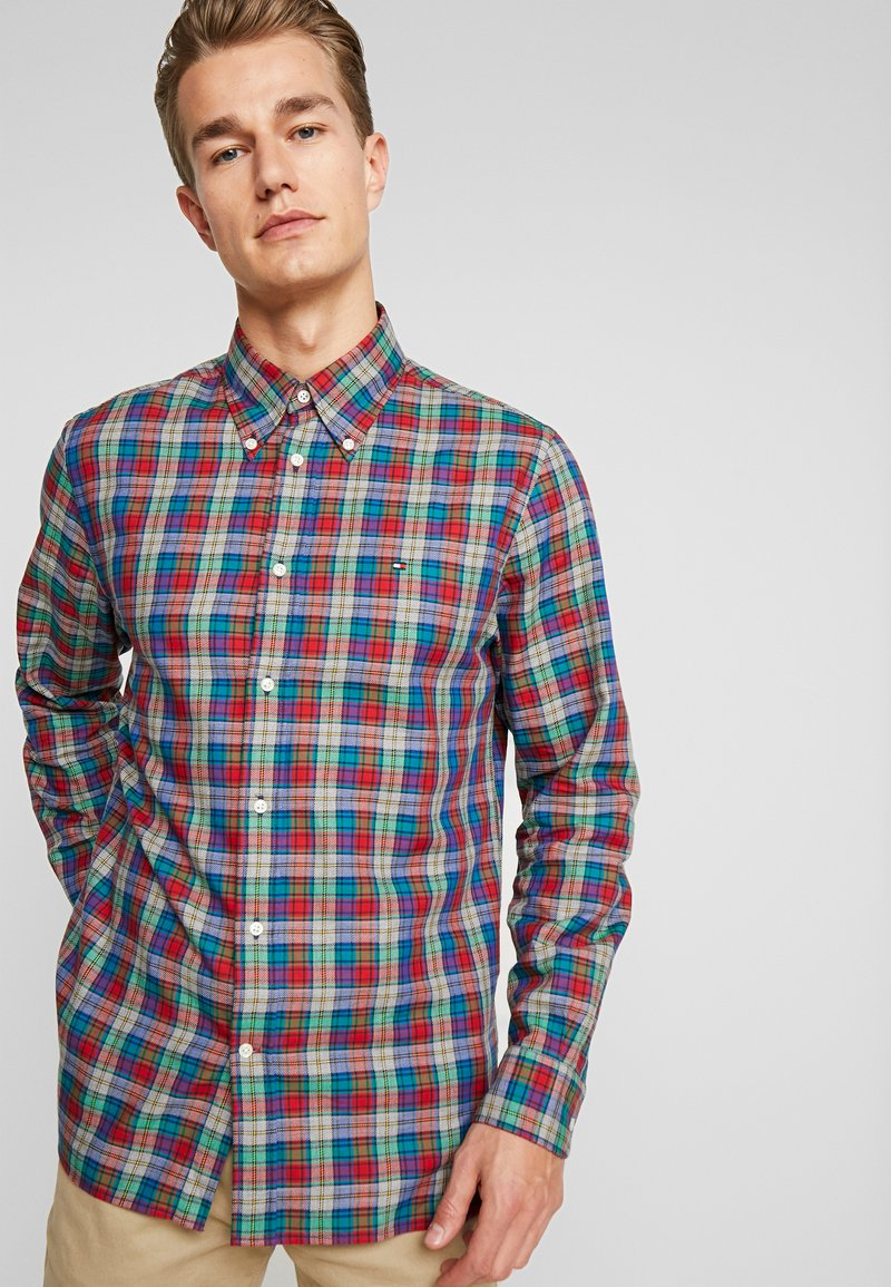 Tommy Hilfiger - CHECK - Skjorte - red
