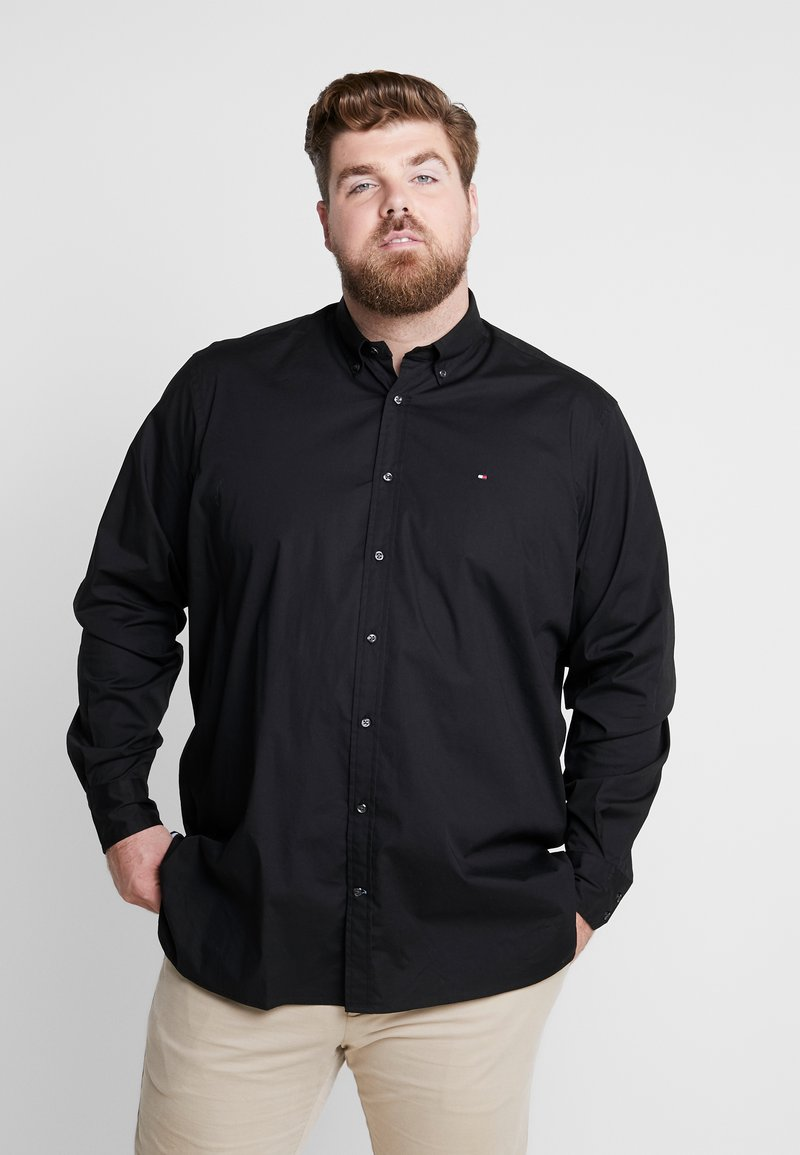 Tommy Hilfiger - STRETCH - Shirt - black