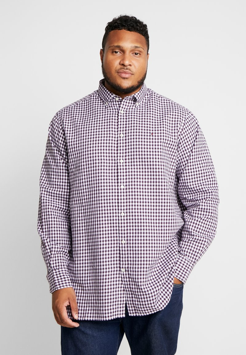 Tommy Hilfiger - CLASSIC TEXTURED REGULAR FIT - Shirt - purple