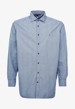 FAKE SOLID PRINT REGULAR FIT - Koszula - blue