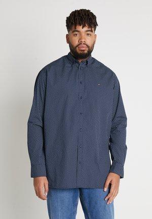 DOT PRINT REGULAR FIT - Overhemd - blue