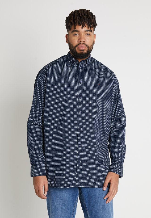 DOT PRINT REGULAR FIT - Shirt - blue