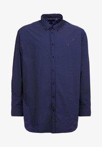Tommy Hilfiger - DOT PRINT REGULAR FIT - Koszula - blue - 4