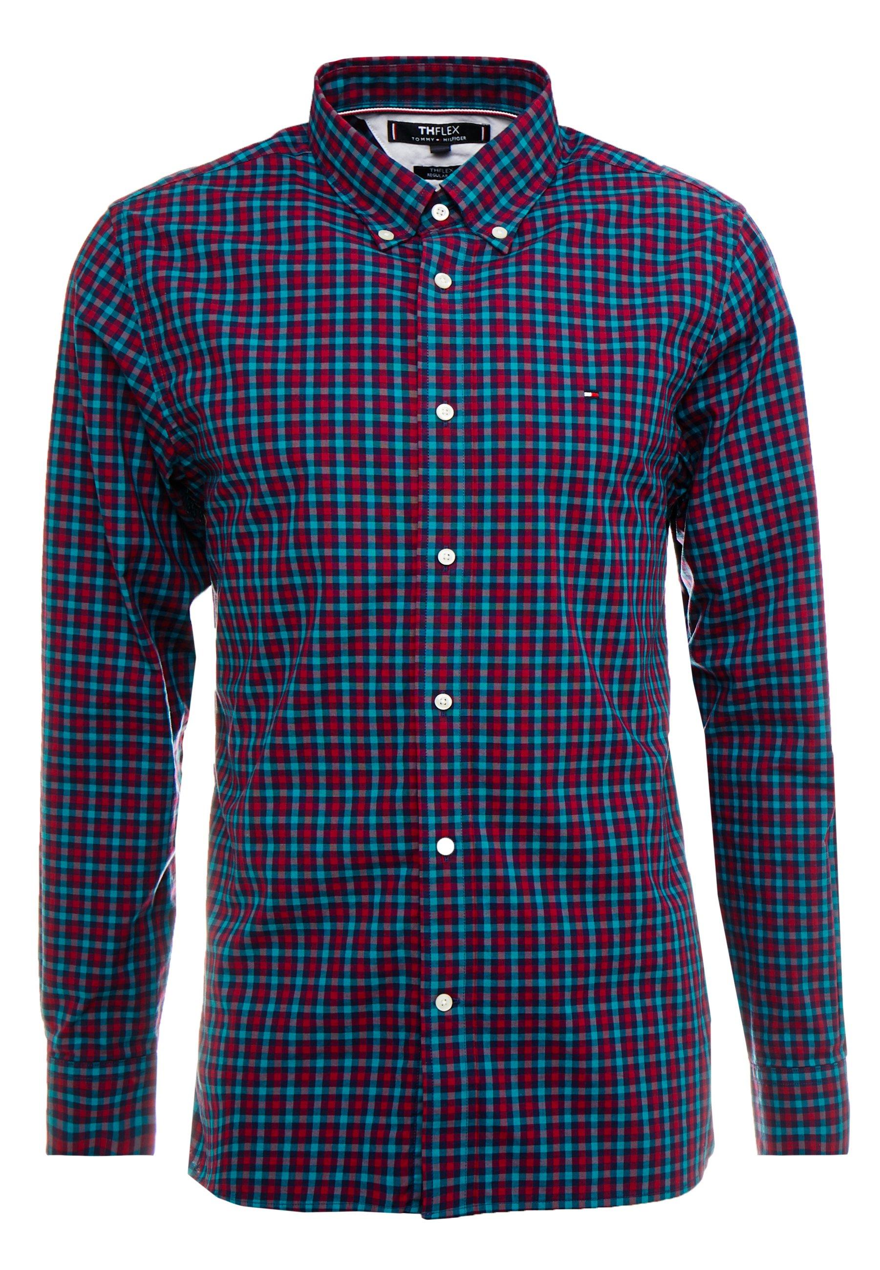 Tommy Hilfiger Flex Multi Gingham - Skjorta Dark Blue/multi-coloured