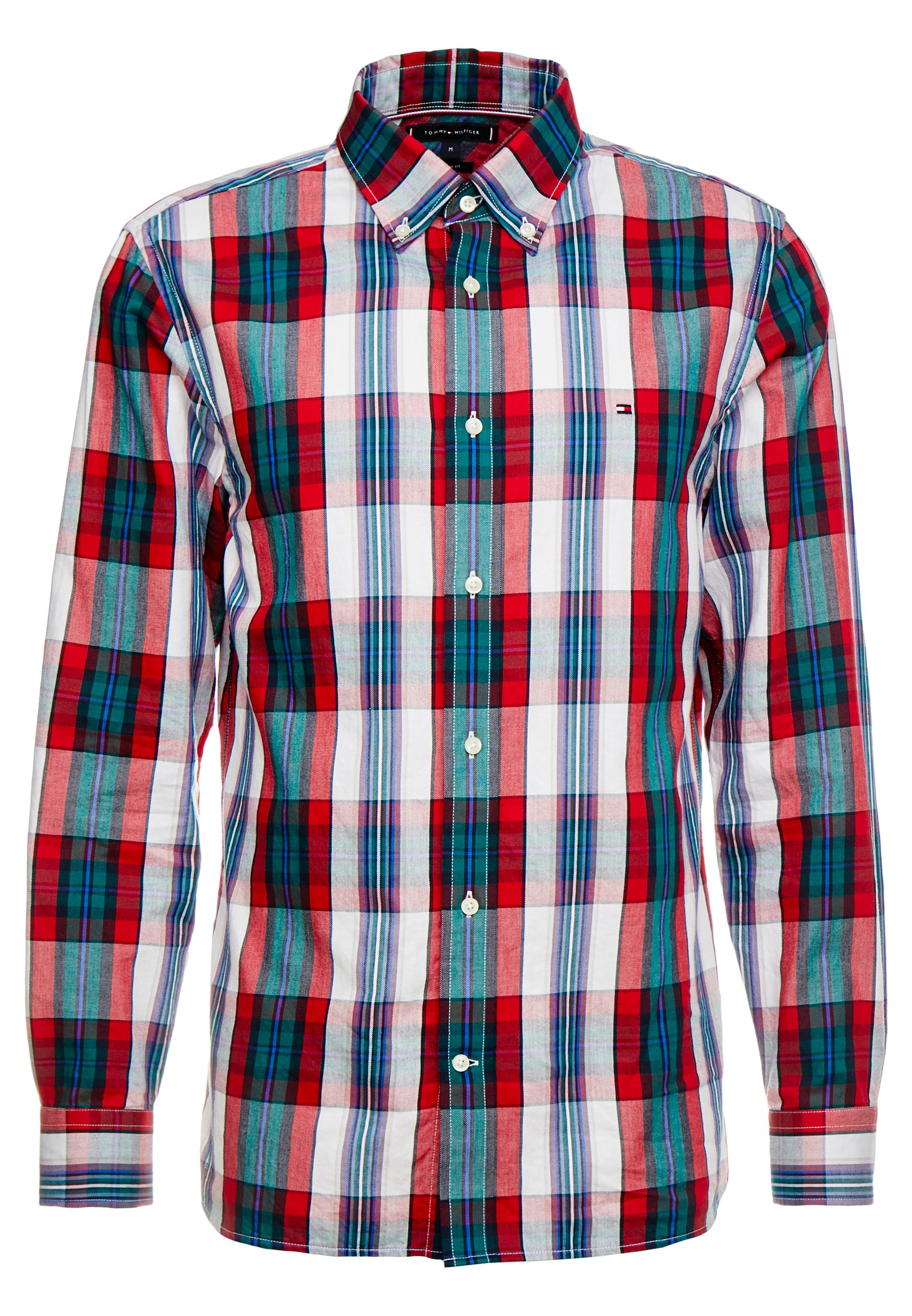 Tommy Hilfiger LARGE SHADOW CHECK - Koszula - red