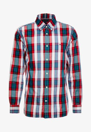 LARGE SHADOW CHECK  - Shirt - red