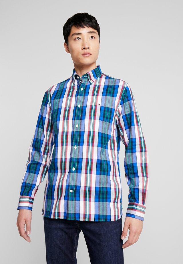 LARGE SHADOW CHECK  - Shirt - blue