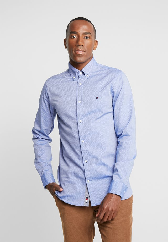 SLIM FLEX DOBBY  - Overhemd - blue