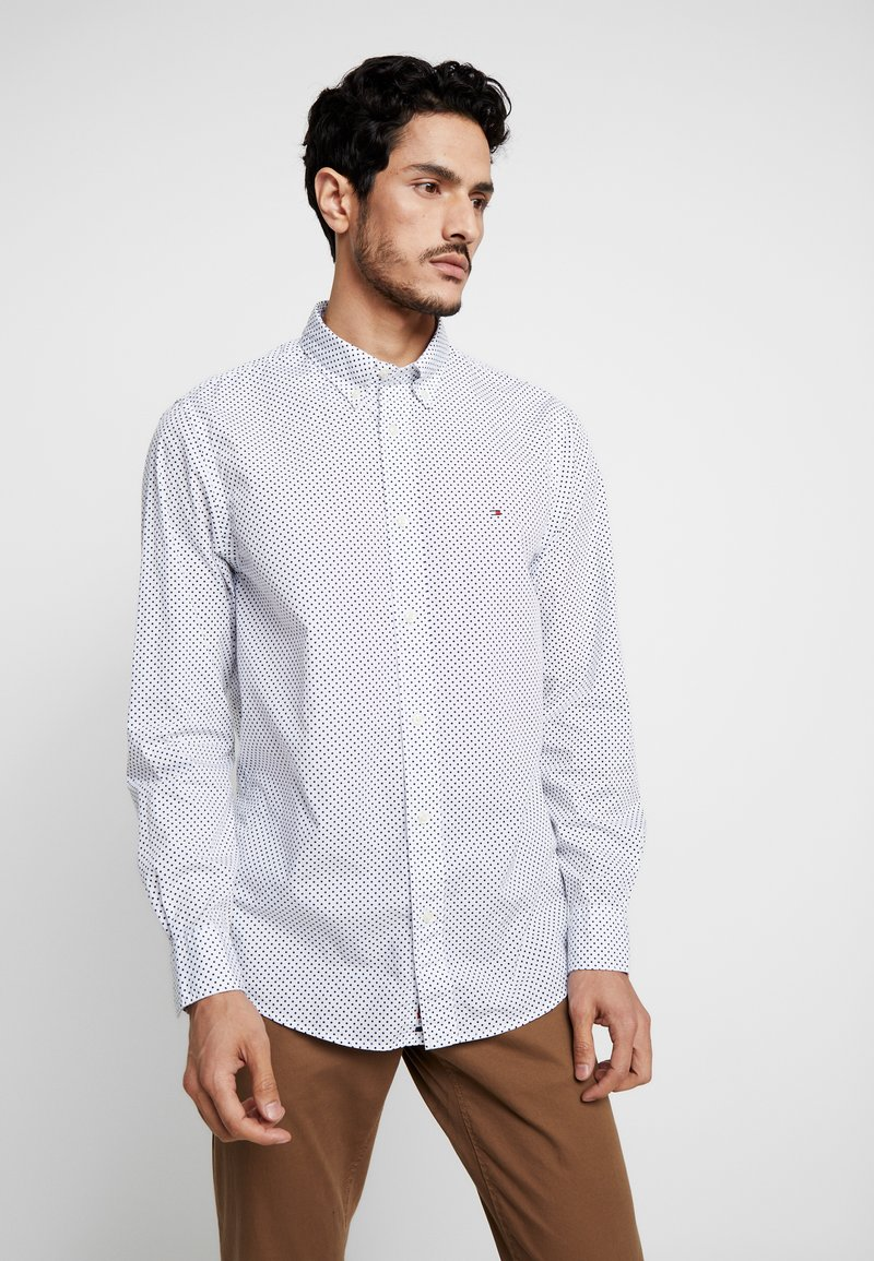 Tommy Hilfiger - DOT REGULAR FIT - Overhemd - white