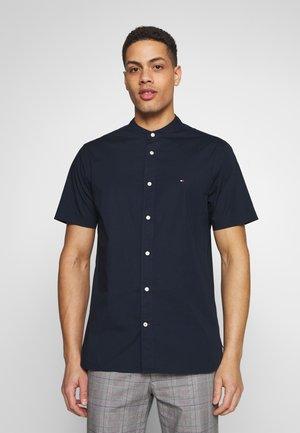 STRETCH POPLIN - Camicia - blue