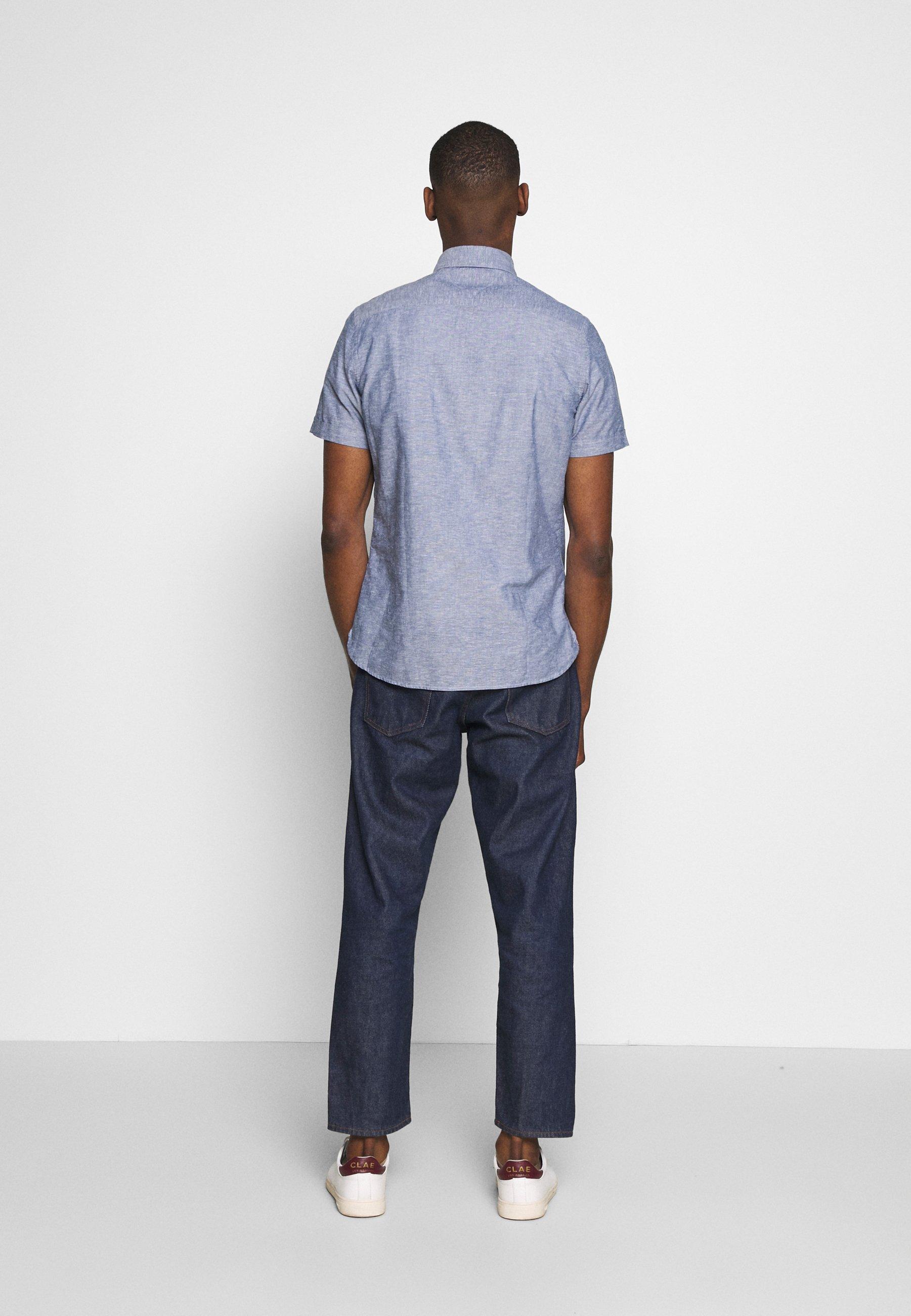 Tommy Hilfiger SLIM SHIRT - Camicia - blue