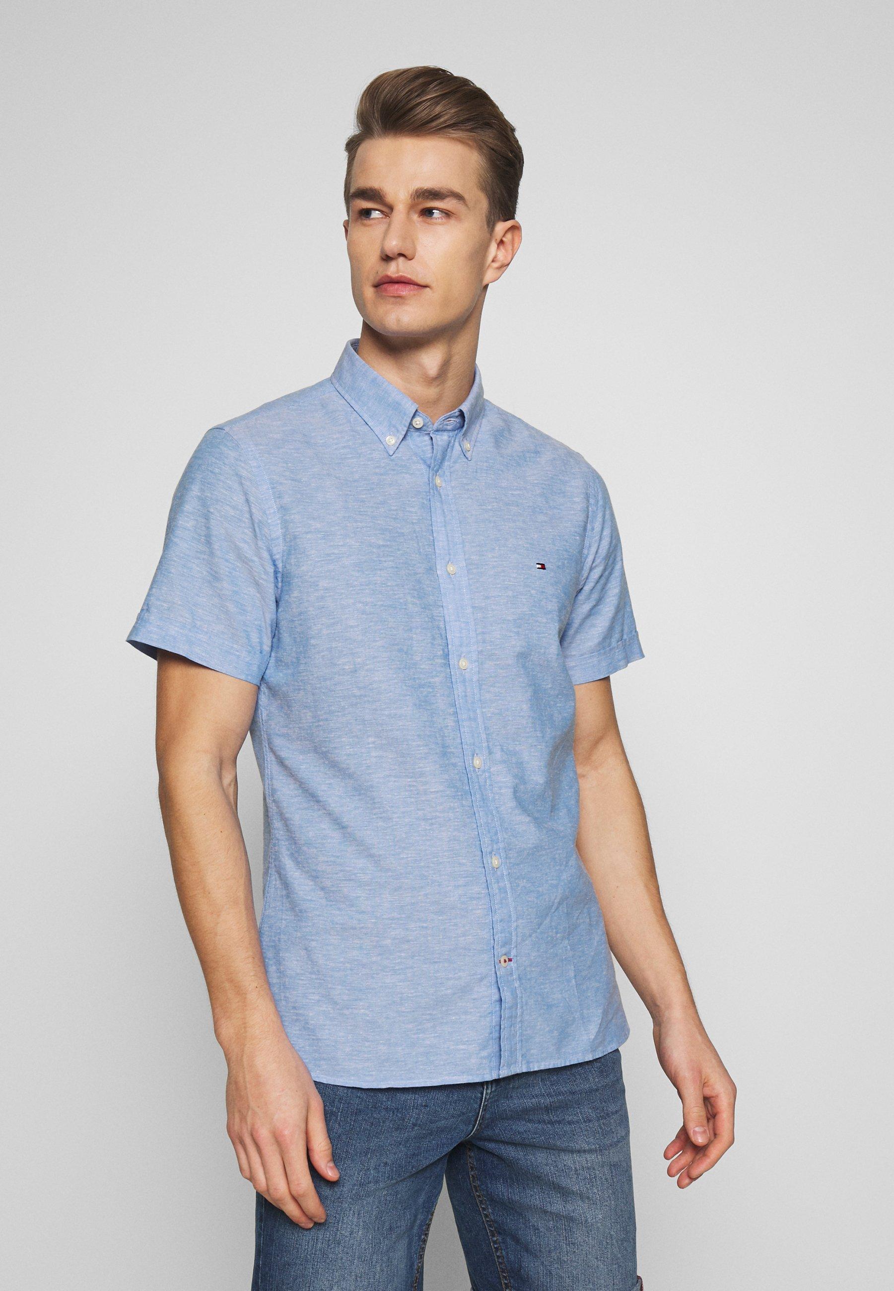 Tommy Hilfiger SLIM SHIRT - Koszula - blue