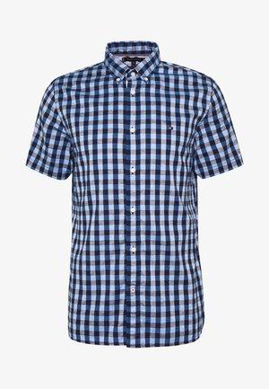 CO/LI LOOK GINGHAM SHIRT S/S - Shirt - blue