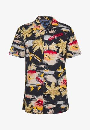 HAWAIIAN PRINT - Košile - blue