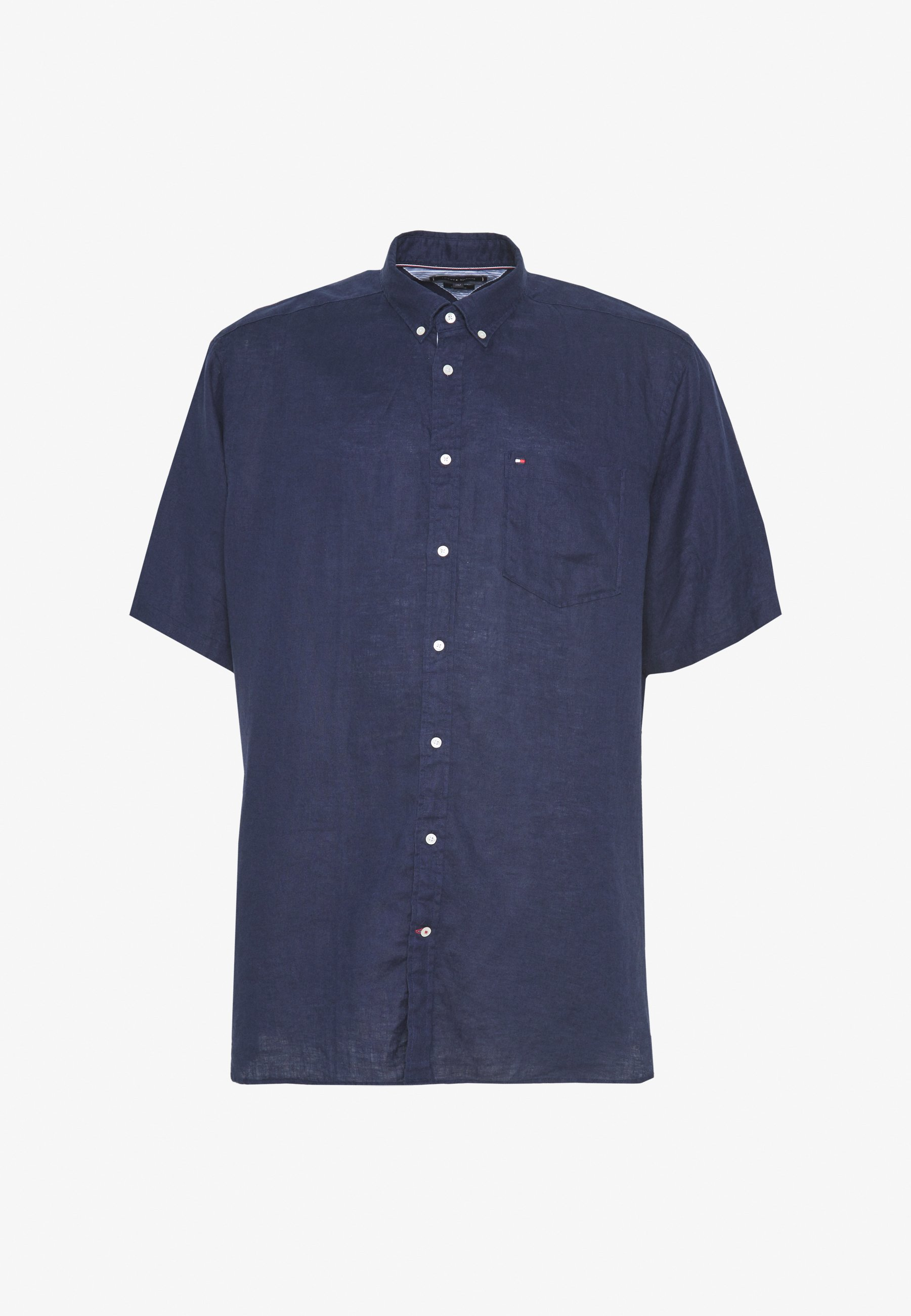 Tommy Hilfiger BT-LINEN - Koszula - blue