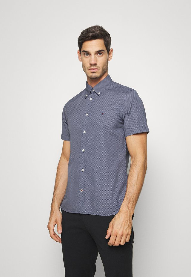 SLIM ESSENTIAL PRINT - Shirt - blue