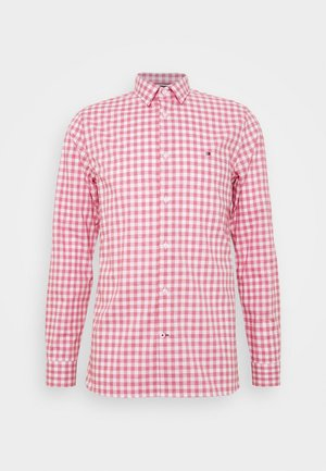 SLIM FLEX HTOOTH GINGHAM SHIRT - Camicia - pink
