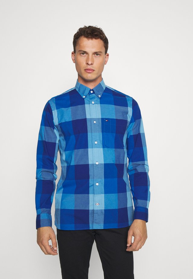 FLEX HOUNDSTOOTH  - Shirt - blue