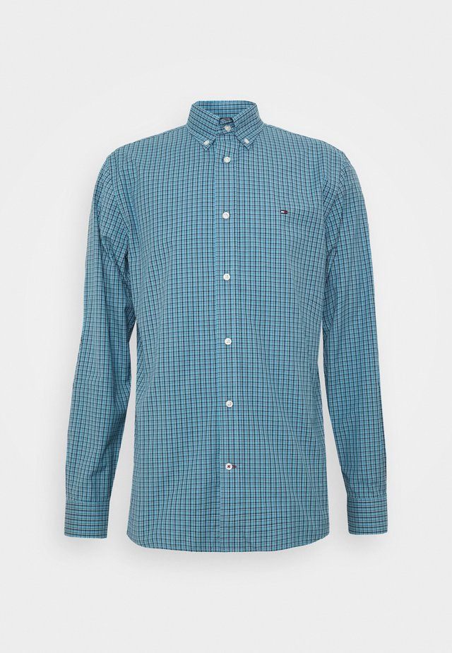 MICRO CHECK SHIRT - Shirt - blue
