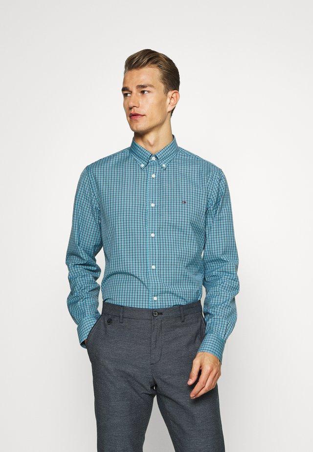 MICRO CHECK SHIRT - Camisa - blue