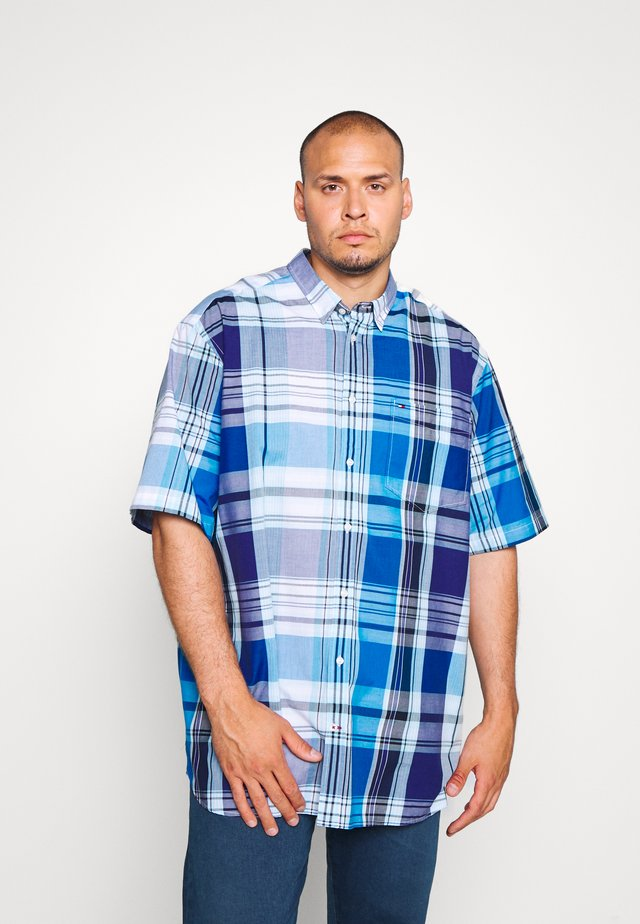 MADRAS CHECK - Shirt - blue