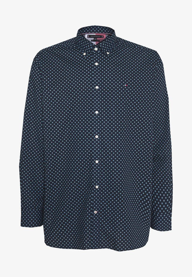 FLORAL GEO PRINT - Camisa - blue