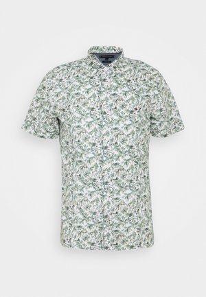 SLIM PALM TREE PRINT - Shirt - white/green slate/multi