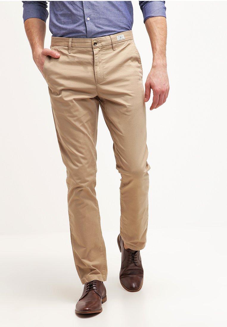 Tommy Hilfiger - DENTON - Chino kalhoty - khaki