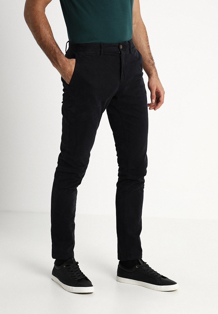 Tommy Hilfiger - STRAIGHT DENTON  - Pantalones - black