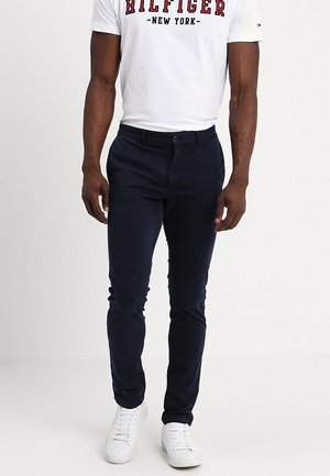 SLIM BLEECKER FLEX - Chino - blue