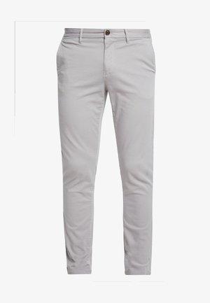 STRAIGHT DENTON FLEX - Pantalon classique - grey