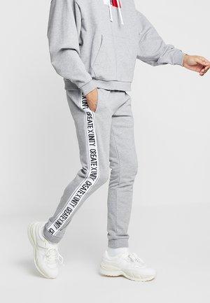 LEWIS HAMILTON BASIC TAPE SWEATPANT - Pantalon de survêtement - grey