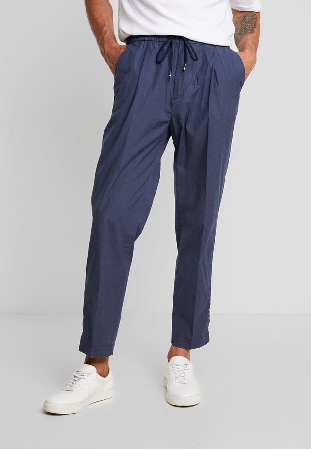 ACTIVE PANT PUPPYTOOTH - Trousers - blue