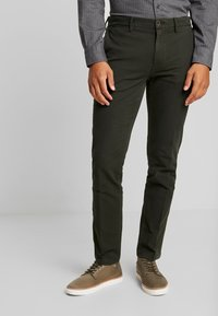 Tommy Hilfiger - DENTON STRUCTURE  - Chino - black - 0