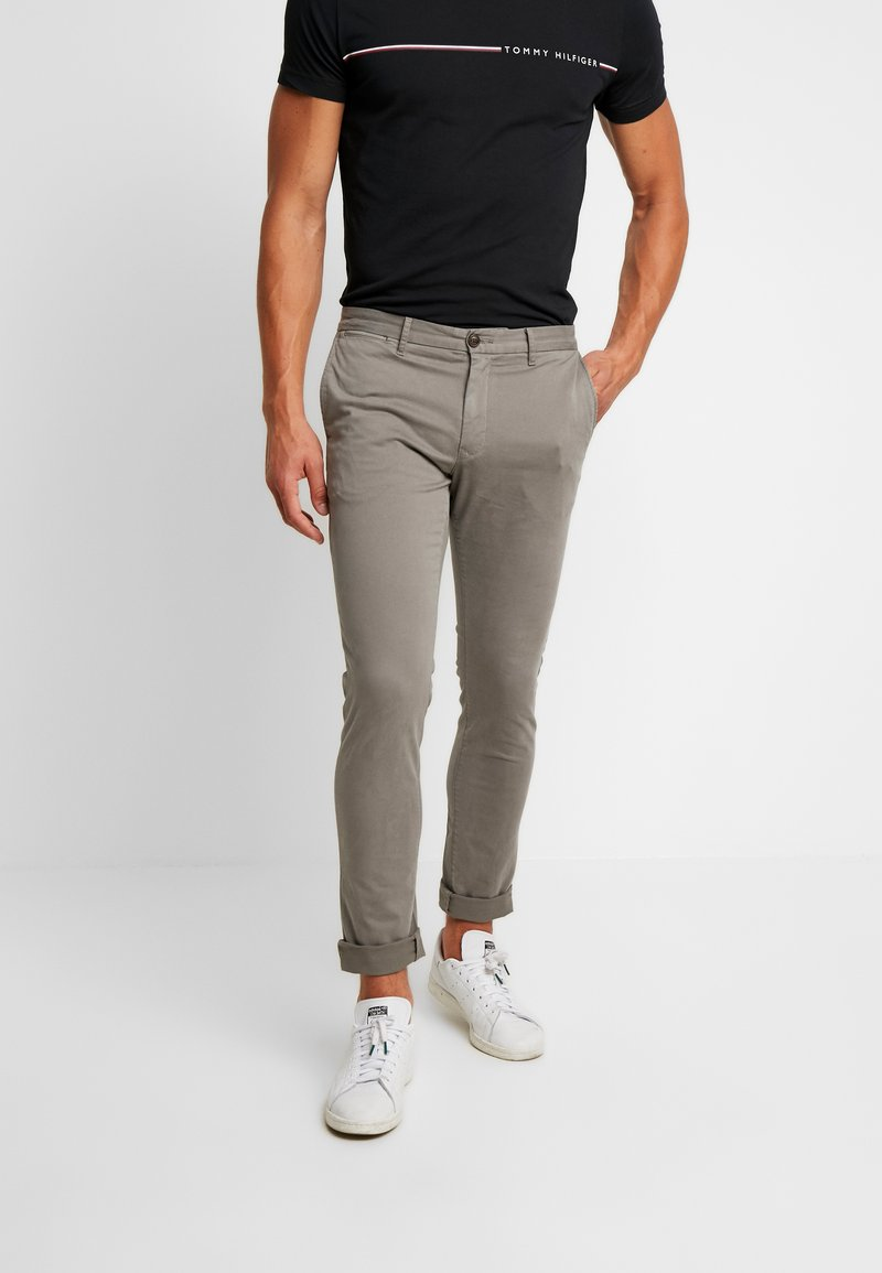 Tommy Hilfiger - BLEECKER FLEX  - Pantalon classique - grey