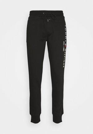BASIC BRANDED  - Teplákové kalhoty - jet black