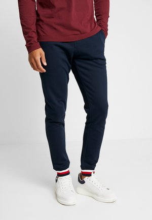 COLORBLOCK - Tracksuit bottoms - blue