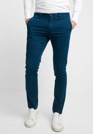 BLEECKER - Chinos - blue