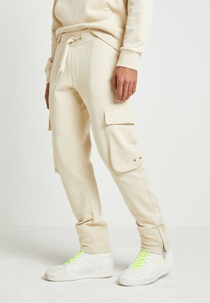 LEWIS HAMILTON CARGO SWEATPANTS - Pantalon de survêtement - grey
