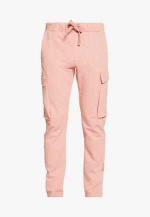 LEWIS HAMILTON CARGO SWEATPANTS - Pantalon de survêtement - pink
